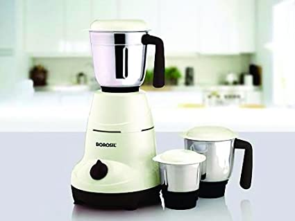 Borosil Home Star 500W Mixer Grinder (3 Jars)