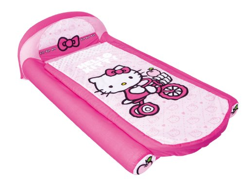 Hello Kitty My First Ready Bed a Sleepover Solution including Inflatable Mattress and Sleeping Bag