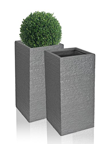 seville-tall-fibrecotta-planter-in-dark-grey-brick-finish-set-of-2-h50cm-x-w20cm