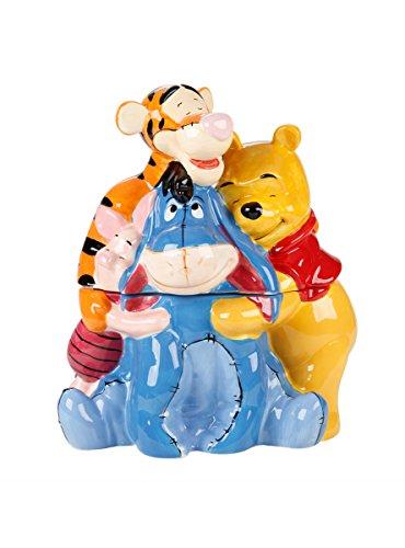 Disney Cookie Jars Amazon Com >> Disney Winnie The Pooh Time For A Hug Cookie Jar Shopswell