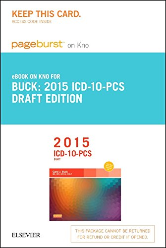 2015 Icd-10-Pcs Draft Edition - Pageburst E-Book On Kno (Retail Access Card), 1E