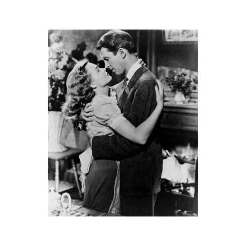 James Stewart George Bailey Donna Reed Mary Hatch Bailey It 39 S A Wonderful Life 20x24