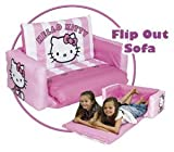 Hello Kitty Striped Flip Out Sofa