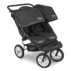 Baby Jogger City Elite Double Stroller - Black/Black