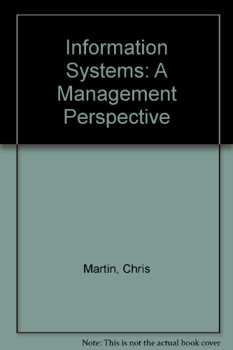 Information Systems: A Management Perspective