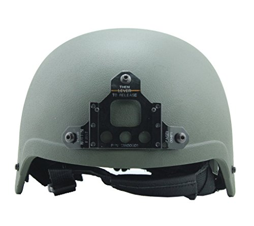 LOOGU IBH Anti-riot ABS Helmet Standard Version Plastic Paintball Navy Seal Helmet Airsoft Military Tactical Combat Army Use(Army Green) (Navy Seals Airsoft compare prices)