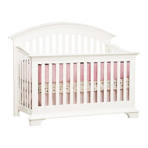Crib Simmons Kids Santiago Crib 'N' More In White Ambiance Finish front-331709