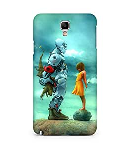 Amez designer printed 3d premium high quality back case cover for Samsung Galaxy Note 3 Neo (Robot n Girl)