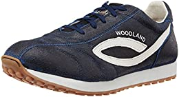 Woodland Mens Leather Sneakers B00SY0BKJI