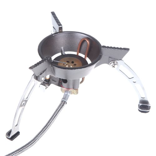 Anself Brs-11 Outdoor Gas Stove Portable Split Windproof Cookware Camping Hiking Climbing Picnic Burner