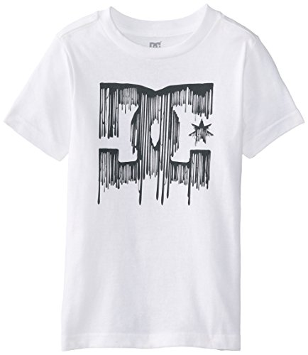 Dc Apparel Little Boys' Drips Tee, White, 4 front-813636