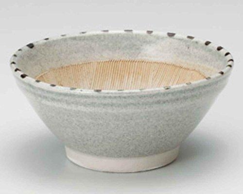 Dots Tokusa 12.3cm Set of 10 Mortars Grey Ceramic Made in Japan