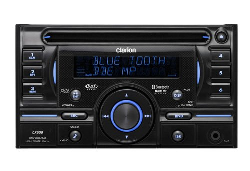 Clarion Cx609 2-Din Cd/Mp3/Wma/Aac Receiver With Usb Port