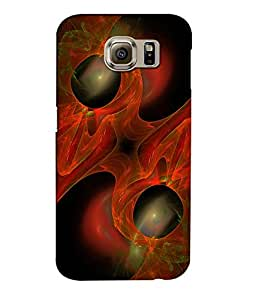 Crazymonk Premium Digital Printed 3D Back Cover For Samsung Galaxy S7 Edge