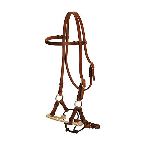 Tory Harness Leather Single Rope Half Breed