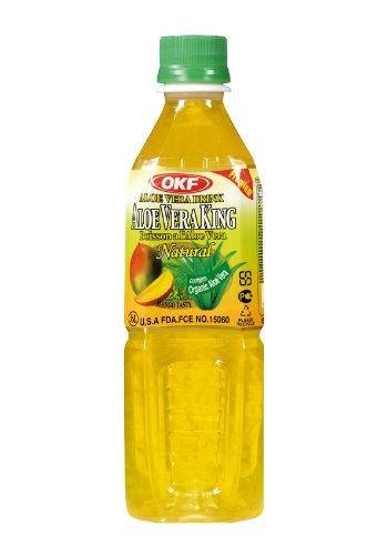 Aloe Vera King Juice, Mango, 16.9-Ounce Bottles (Pack of 20)