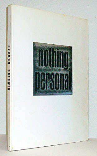 Nothing Personal. 1964. Hardcover in slipcase. (Nothing Personal Richard Avedon compare prices)