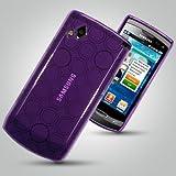 SAMSUNG WAVE II S8530 PURPLE GEL SKIN CASE Accessories for mobile phones by Oliviahones