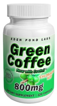 Svetol Green Coffee Bean Extract 120 Capsules 800mg 60 Day Supply Double Strength Fat Burner Pure Green Coffee Bean Extract with Svetol Diet Pills