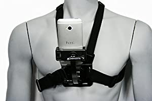 Livestream® Basic Chest Mount for Hands-Free Live Video, or Streaming on Periscope or Meerkat. Two wearable configurations; Includes Chest Mount, Extension, Phone Clamp Mount, & J-Hook, Screw, 3-Way Pivot Arms, and Action Mount® Adapter. Operable with A
