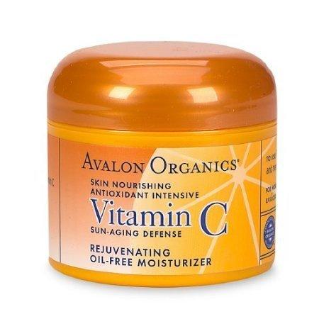 Avalon Organics Vitamin C Rejuvenating Oil-Free Moisturizer 2 Oz (57 G)