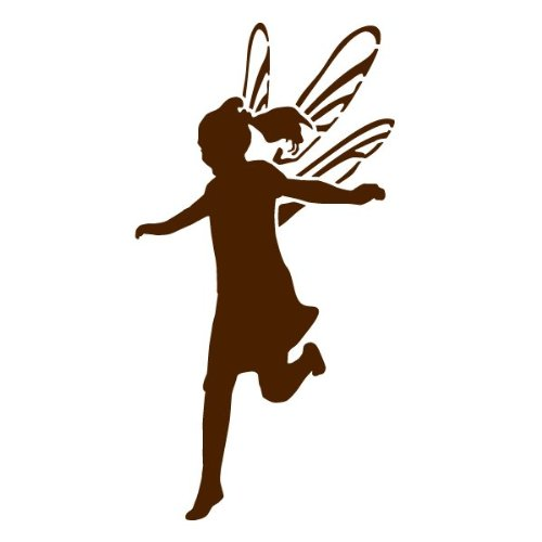 Fairy Stencil For Painting Fairies On The Walls And Furniture Of A Girls Room front-990751