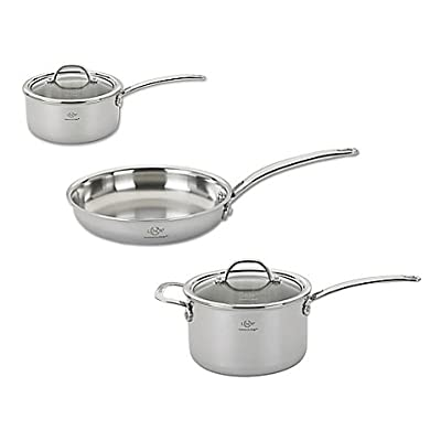 Lenox Performance Series 5-Piece Tri-Ply Stainless Steel Cookware Set