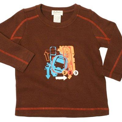 Zutano Topstitch Crew, Bus Stop - Buy Zutano Topstitch Crew, Bus Stop - Purchase Zutano Topstitch Crew, Bus Stop (Zutano, Zutano Boys Shirts, Apparel, Departments, Kids & Baby, Boys, Shirts, T-Shirts, Boys T-Shirts)