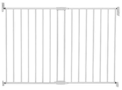 Munchkin Extending Extra Tall And Wide Metal Gate, White front-527771