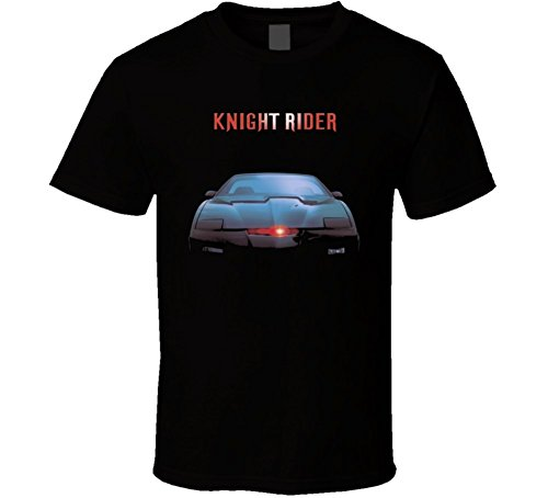Michaner Walosde Knight Rider Cult TV Show Kitt T Shirt X-Large