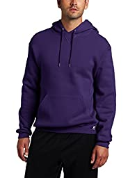 Russell Athletic Men\'s Dri Power Hooded Pullover Fleece Sweatshirt, Purple, Large