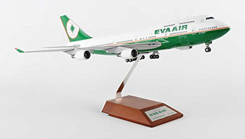 BBOX2528 Jc Wings 1:200 EVA Air (Taiwan) B747-400 Model Airplane (Eva Air Model compare prices)