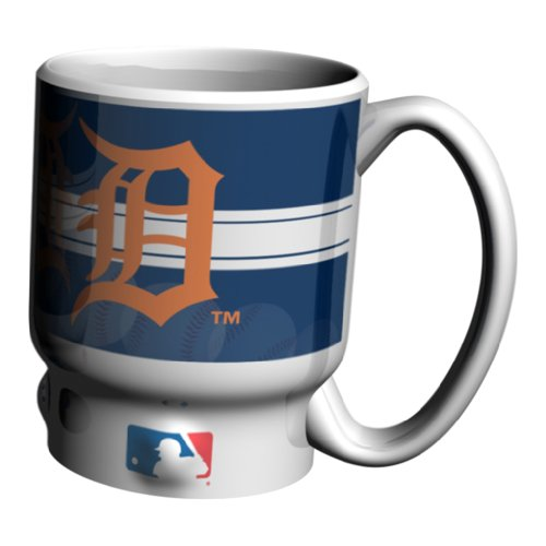 Mlb Detroit Tigers 16-Ounce Sculpted Home Run Mug