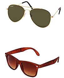 Benour BENCOM017 Combo Unisex Sunglasses