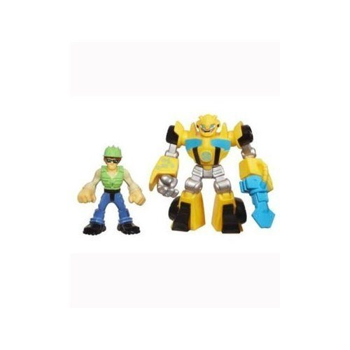 Transformers Rescue Bots Energize Bumblebee & Graham Burns AF 2-pack by HASBRO INC. TOY (English Manual) günstig kaufen