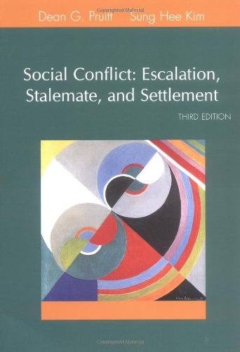 Social Conflict: Escalation, Stalemate, and Settlement...