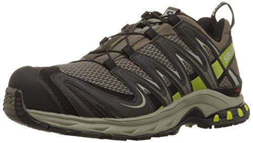 Salomon Uomo, Scarpe Da Trail Running, Xa Pro 3D M+, Grigio (Gris - Grau (Swamp/Dark Titanium/Seaweed Green)), 48
