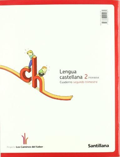 Libro CUADERNO LENGUA PAUTA 2 PRIMARIA 2 TRIM LOS CAMINOS