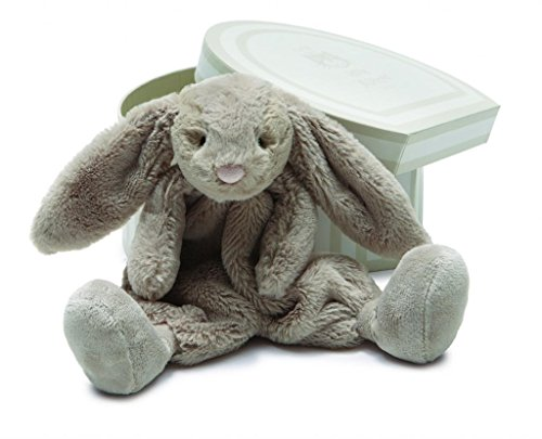 Jellycat® Bou Bou Beige Bunny Soother Blankie, Boxed front-859596