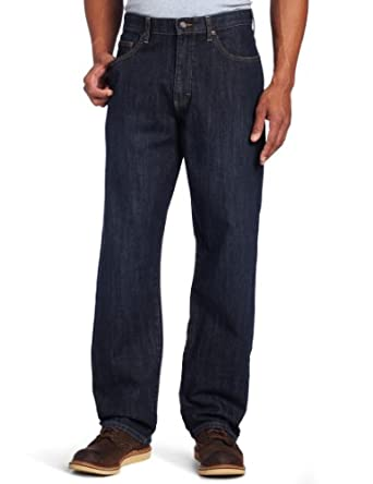 Lee Men's Big & Tall Premium Select Loose Comfort Waist Jean, Vandal, 44x30