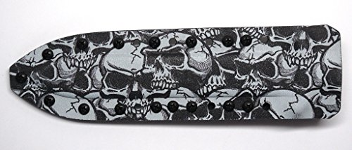 Graveyard Skull Camo/Black Kydex Sheath For Gerber Mark Ii (Mark 2) Knife