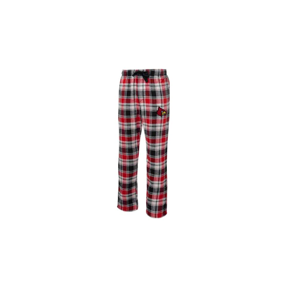 Louisville Cardinals Red/Black Legend Flannel Pants