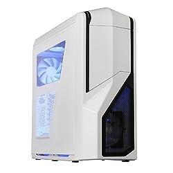 NZXT Phantom 410 Mid Tower USB 3.0 Gaming Case - White