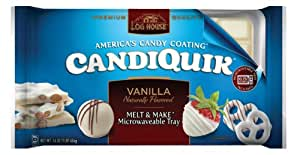 Log House, CandiQuik, Vanilla, 16oz Package (Pack of 2)