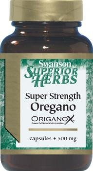 Swanson Herbs Super Strength Oregano (500mg, 60 Capsules) from Swanson Health Products