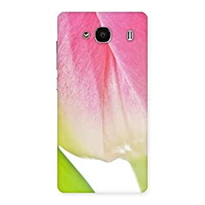 Cute Pink And White Back Case Cover for Redmi 2