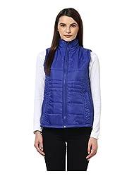 Yepme Sophie Sleeveless Jacket - Blue -- YPMJACKT5061_L