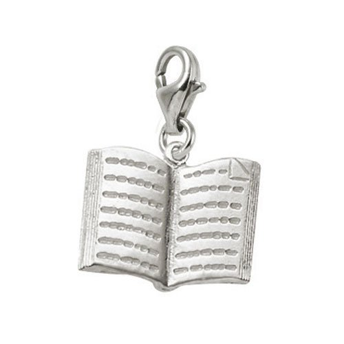 Book Charm with Lobster Clasp by Rembrandt Charms