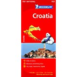 Croatia NATIONAL Map (Michelin National Maps)