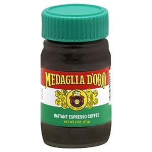 Medaglia D'Oro Instant Espresso Coffee 2 Ounce